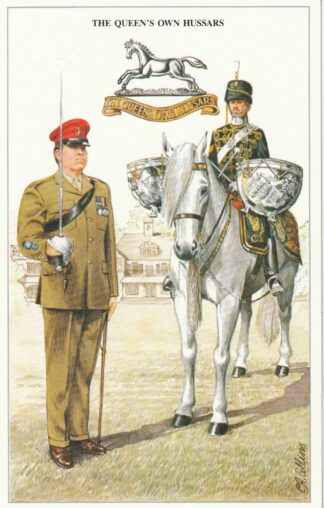 The British Army Series Postcards
